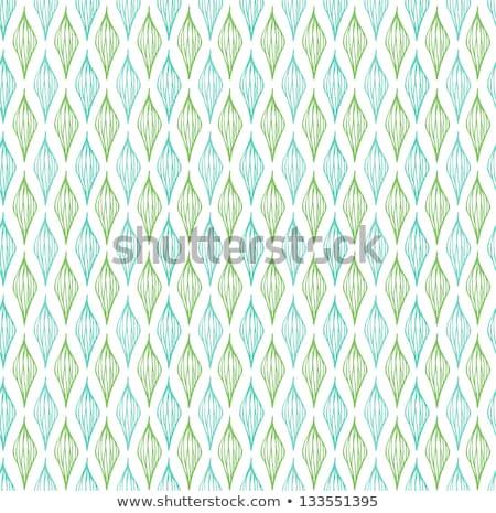 Ondulado padrão verde neutro moderno Foto stock © almagami