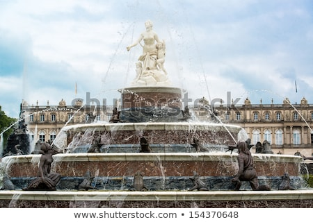 Statue of Latona fountain at Herrenchiemsee, Bavaria Stock photo © kb-photodesign
