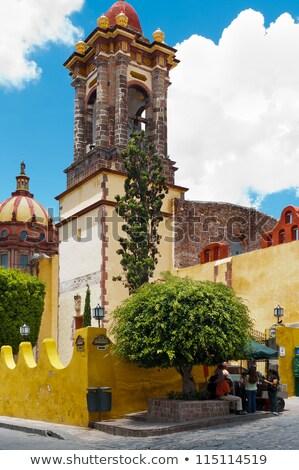 Kopuła bazylika Meksyk budynku kościoła kultu Zdjęcia stock © billperry