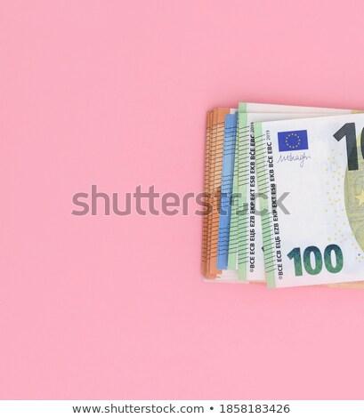 zuhan · 100 · Euro · pénz · bankjegyek - stock fotó © ruslanomega
