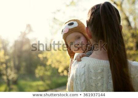 Совы разведенный иллюстрация печально птиц животного Сток-фото © adrenalina