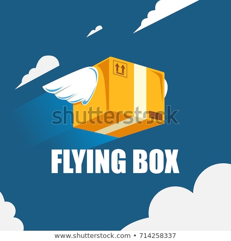 Bird Wings Package express delivery Stock photo © pcanzo