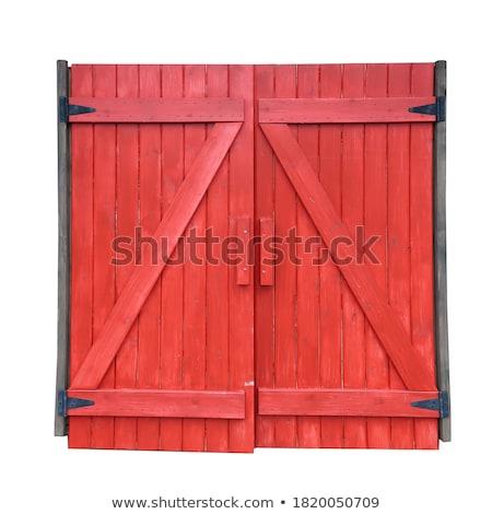 архитектура дизайна красный сарай иллюстрация фон Сток-фото © bluering