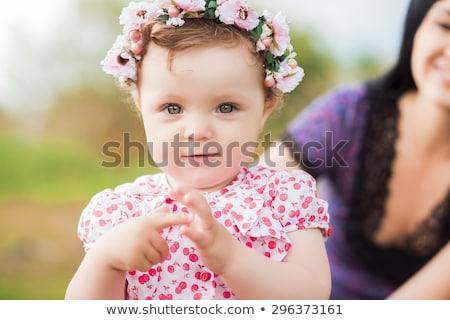 bonitinho · pequeno · bebê · choro · retrato - foto stock © master1305