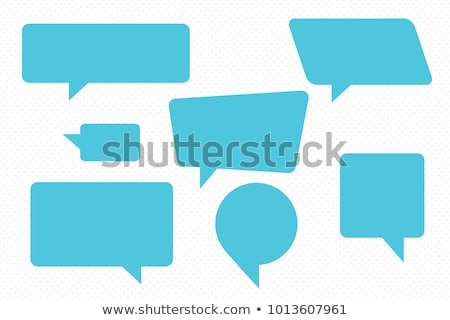 Dialog messaging bubble sign. concept of communication. Business Stock photo © popaukropa
