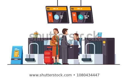 Checkin area at modern airport Stock photo © AndreyPopov