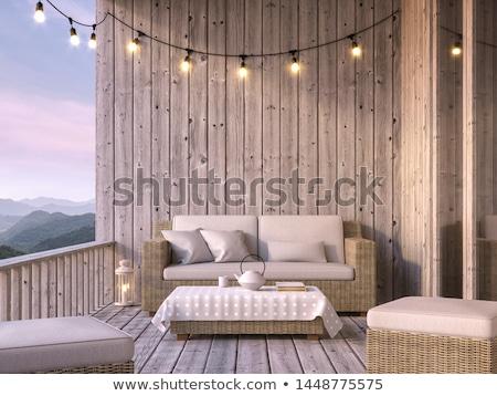 Wall and balcony Stock photo © Koufax73