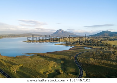 Aerial view of Lake Moogerah in Queensland Stock photo © artistrobd