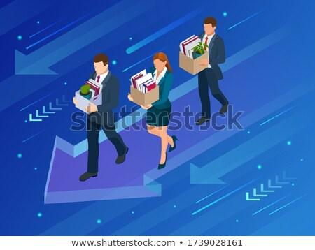 network manager hiring now 3d stock photo © tashatuvango