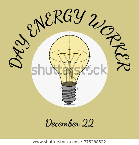 22 December day energy worker Stock photo © Olena