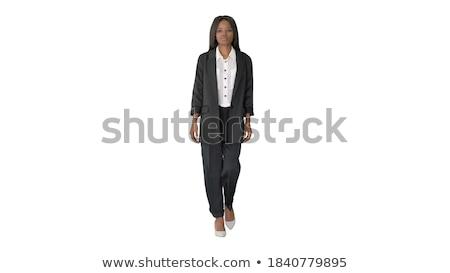 現代 · 小さな · ビジネス女性 · ビジネス · スーツ · 白 - ストックフォト © Traimak