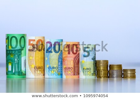 Rolled Euro currency Stock photo © IS2