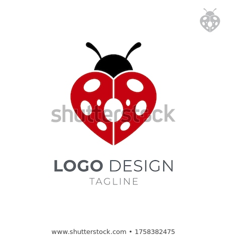 Heart Ladybug Stock photo © psychoshadow