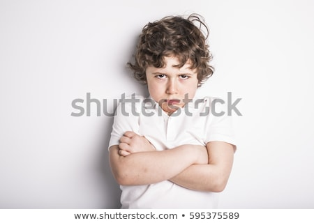 портрет · мальчика · лице · крест · молодые · молодежи - Сток-фото © monkey_business