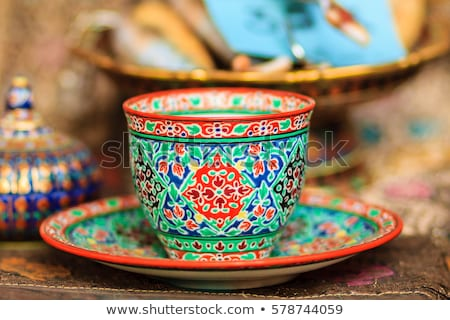 colorful ceramic cup Stock photo © tehcheesiong