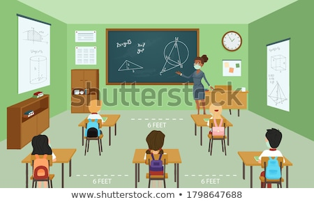 Boys in classroom Stock photo © IS2
