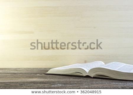 Ouvrir dictionnaire vue éducation mode de vie apprendre Photo stock © wavebreak_media