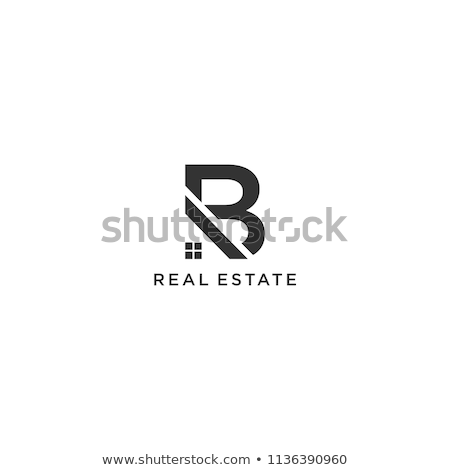 house logo with letter b sign logo template stock photo © taufik_al_amin