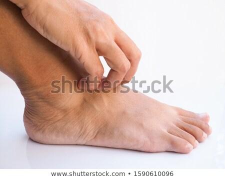 Stockfoto: Mooie · vrouwen · hand · gezondheidszorg · geneeskunde