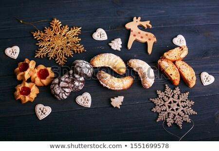 assorted christmas cookies Stock photo © M-studio