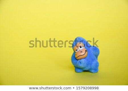 Brutto scimmia abbraccio cartoon illustrazione pronto Foto d'archivio © cthoman