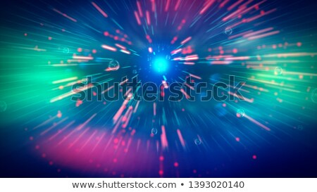 Bitcoin explosion. Big cloud of crypto currency. Stock photo © MaryValery