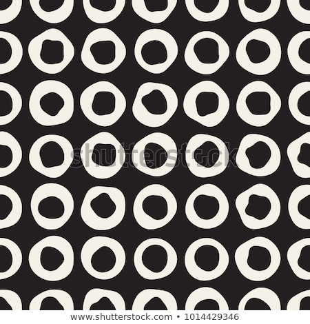 Geometric seamless black and white texture. Monochrome wrapping paper pattern background. Simple Stock photo © Iaroslava