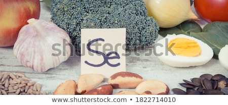 the concept of diet dietary eggs in a container stock photo © galitskaya
