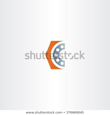 抽象的な · 幾何学的な · ボタン · テンプレート · 技術 - ストックフォト © blaskorizov