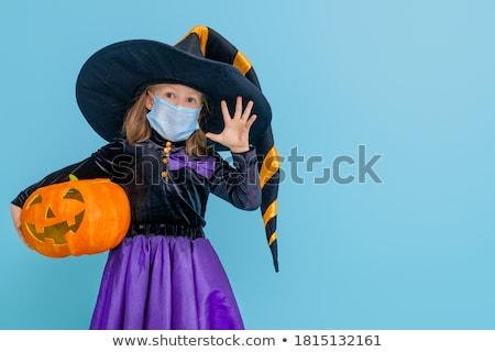 Streich · Halloween · Hintergrund · orange · Nacht - stock foto © adrenalina