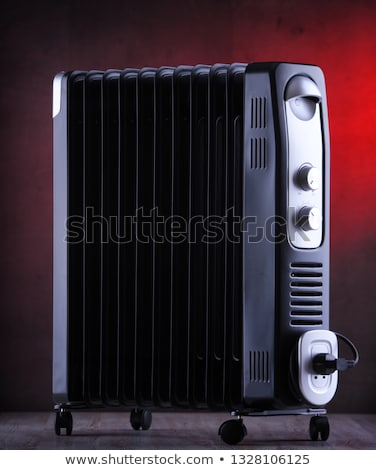 Black Warm Oil heater Stock photo © Blue_daemon