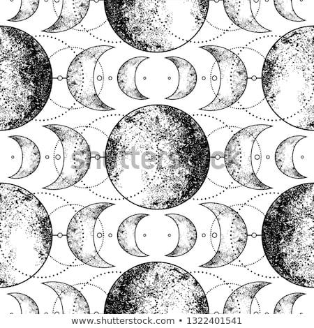 錬金術 シンボル パターン セット トレンディー コレクション ストックフォト © netkov1