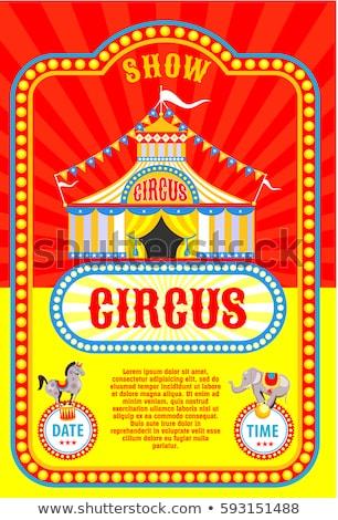 Stock photo: Circus vector illustration design