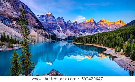 Manzara güzel ada panorama tropical island mavi Stok fotoğraf © vapi