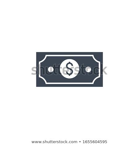 Stipendio vettore icona isolato bianco soldi Foto d'archivio © smoki