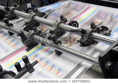 Printing house shop Stock photo © pressmaster