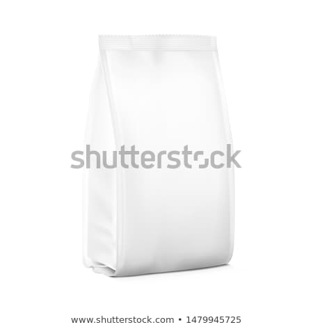 White Paper Bag Package for your image Stock photo © netkov1