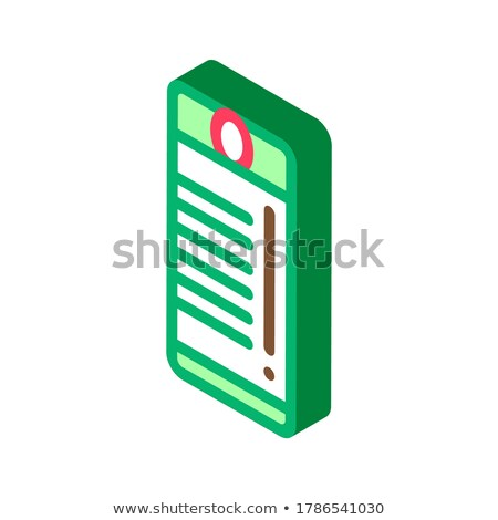 Tourist Campfire Lighter isometric icon vector illustration Stock photo © pikepicture