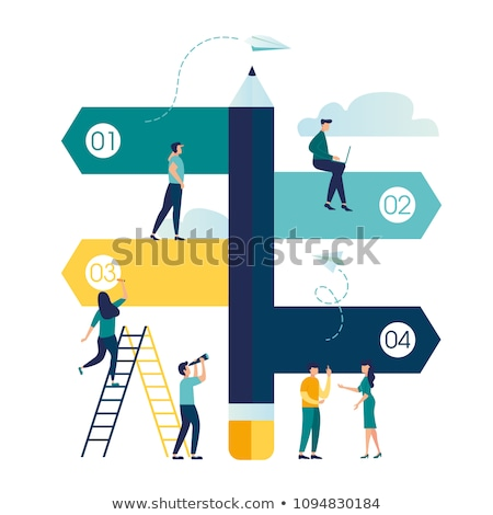 Decision making abstract concept vector illustration. Stock photo © RAStudio