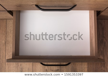 Wooden drawer Stock photo © trgowanlock