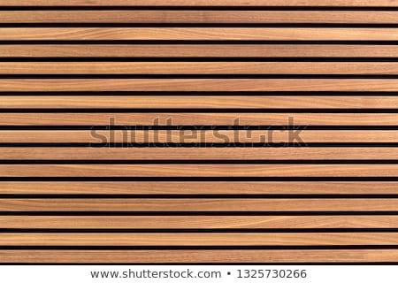 timber slats stock photo © thp