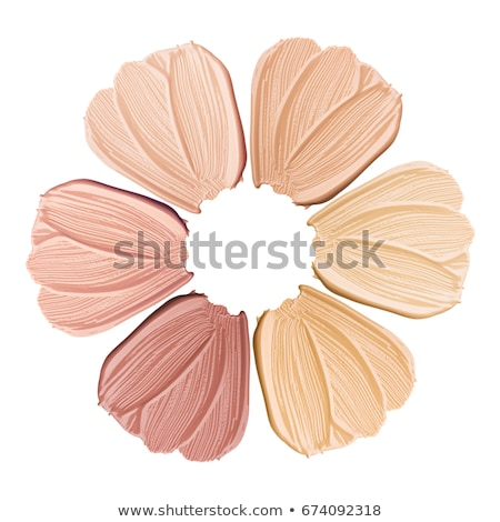 Conceptual image of skin tone Stock photo © Anna_Om