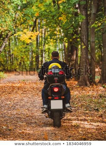 человека · вождения · мотоцикл · Экстрим · вектора · мотоцикле - Сток-фото © get4net