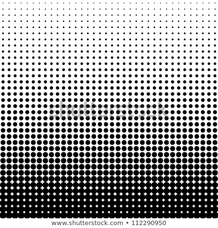 Black and white circles background / pattern / texture Stock photo © orson