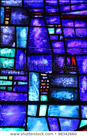 vitrais · Manchester · catedral · belo · janela - foto stock © borna_mir