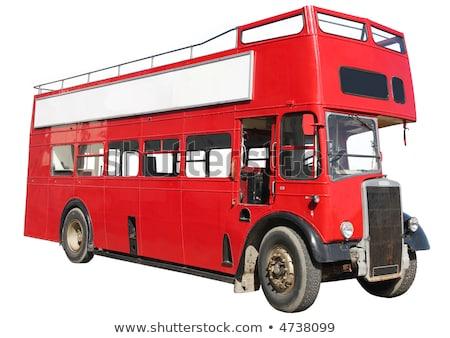 большой · автобус · люди · автомобилей · путешествия · парка - Сток-фото © latent