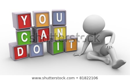 you can do it in 3d cubes Stock photo © marinini