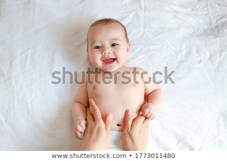 baby on belly Stock photo © Paha_L