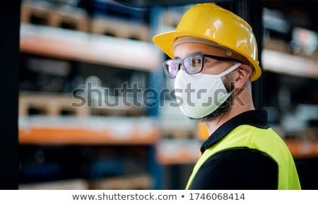 Yellow hard hat Stock photo © stevanovicigor
