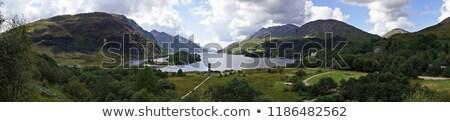 Panorâmico ver em torno de místico impressionante cenário Foto stock © prill